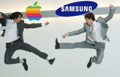 Apple vs Samsung fight