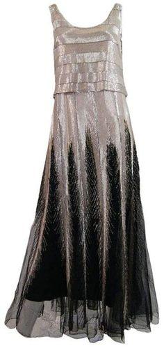 Jeanne Paquin Dresses | 1920s Jeanne Paquin dress via 1stdibs.com