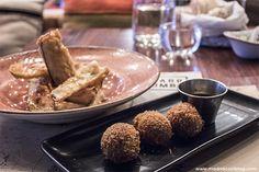 Marieta (Madrid). Restaurante de cocina internacional en Castellana para ver y ser visto, con un gran ambiente, y sobre todo con platos para todos los gustos donde puedes comer tataki o pizza, tempura o croquetas