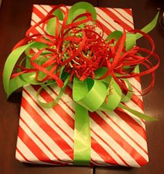 how to make bows for christmas presents