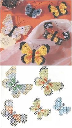 Best 12 pixels – Page 573012752583980040 – SkillOfKing. Plastic Canvas Stitches, Plastic Canvas Coasters, Plastic Canvas Ornaments, Plastic Canvas Tissue Boxes, Plastic Canvas Christmas, Plastic Canvas Crafts, Free Plastic Canvas Patterns, Butterfly Cross Stitch, Christmas Crafts For Gifts