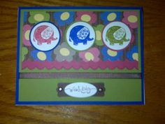 Elephants Out of the Box by swain78 - Cards and Paper Crafts at Splitcoaststampers
