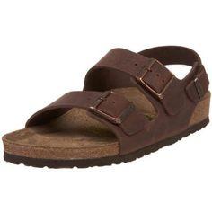 New Vtg Dr Doc Martens Leather Sandals Slide On Bark UK Child 11 US Youth 12