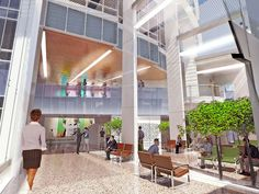 The Willing Wing--Design of New San Francisco General Hospital