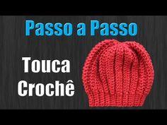 Touca Newborn Croche - YouTube