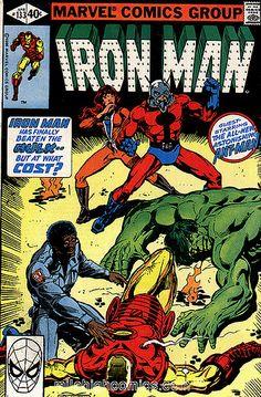Iron Man Vol. Iron Man (Anthony Edward Tony Stark) is a fictional character, a superhero in the Marvel Comics Universe. Iron Man Comic Books, Marvel Comic Books, Comic Book Heroes, Comic Books Art, Comic Art, Book Art, Vintage Comic Books, Vintage Comics, Tony Stark