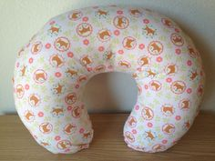 Boppy Cover Little Fox // Breastfeeding Pillow by MamaFoxSews