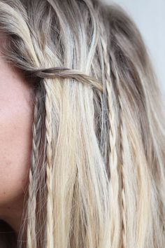 16 Tiny Braids to Try Out Soon via Brit + Co.