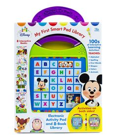 Loving this Disney Baby My First Smart Pad Board Book Set on #zulily! #zulilyfinds
