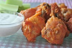 Baked Chicken Wings - super crunchy without being fried