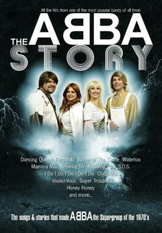 June 6 at 8pm.  The Abba Story!  Tickets are $30.00.  The songs and stories that made ABBA the supergroup of the 70's!!