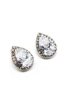 Sparkle Teardrop Earrings.