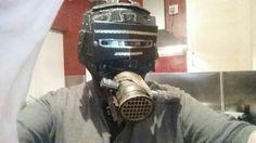 Airship pirate mask