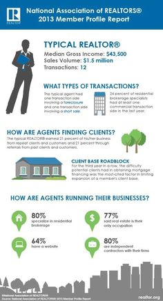2013 agent statistics from NAR.