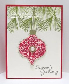 Candlelight Christmas Ornament by luv my dolly - Cards and Paper Crafts at Splitcoaststampers