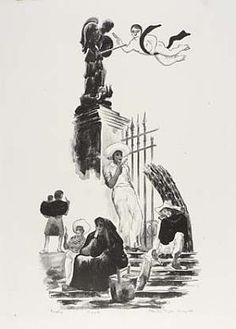 Paletas, n.d., Prentiss Taylor, Smithsonian American Art Museum, Gift of Irina A. Reed