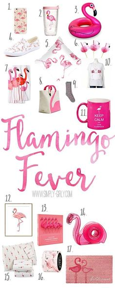 Flamingo Fever Some fun flamingo finds here!