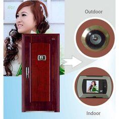 2.4 LCD Wide Angle Electronic Door Peephole Peep Hole Visual Monitor Wireless Viewer Puertas Doorbell Mirillas Puerta Digital