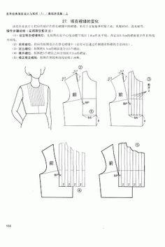 Chinese method of pattern making- Darts on a bodice - SSvetLanaV - Álbumes web de Picasa