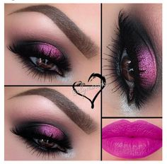 Pink smoky eyes - Valentine day makeup