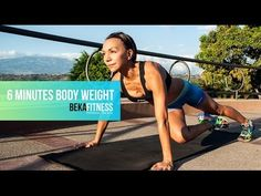 6 Minutes Body Weight Fitness Workout