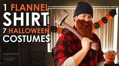 Go to http://halloweencostumestore.net/go tor your Halloween costumes. 1 Flannel Shirt, 7 Halloween Costumes | Art of Manliness