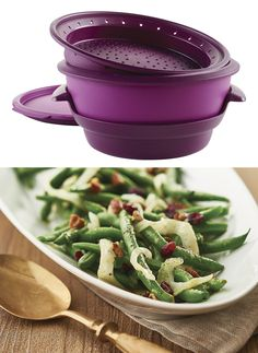 Tupperware® SmartSteamer. Steam up, slim down. Cooking purely with steam in the microwave retains food's moisture, flavor and nutrients for leaner, healthier meals.