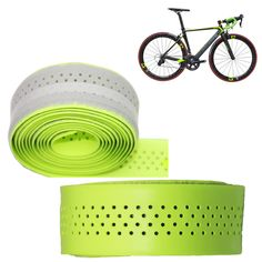 2 pcs Bicycle Handlebar Drop Bar Wrap Cork Tape fit Fixed Gear Road Bike 2  Bar