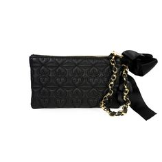 I love the Deux Lux Love Drops Chain Wristlet from LittleBlackBag