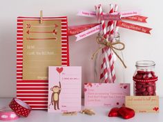 TinyMe has 5 pages of adorable free Valentine's Day printables, from cards to gift tags to labels