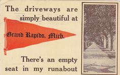 There's an empty seat in my runabout -1912