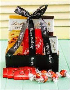 Birthday Gifts for Him: Birthday Lindt Chocolate Delight! Best Dad Gifts, Cool Gifts, Fathers Day Gifts, Gifts For Dad, Lindt Chocolate, Chocolate Delight, Chocolate Gifts, Birthday Gift For Him, Happy Birthday