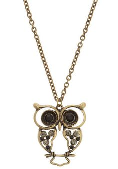 Hoot N' Holler necklace - modcloth $14.99