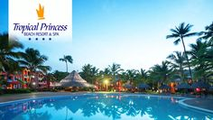 Tropical Princess Beach Resort and Spa has been selected as one of the BookIt.com® Top Ten All-Inclusive Resorts!