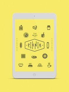 jvnk: Pik Nik Cafe Branding by Oddds Web Design, Tool Design, Cafe Branding, Branding Design, Ui Inspiration, Graphic Design Inspiration, Mobile App Design, Mobile Ui, Layout