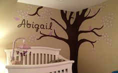 Love this nursery theme done with the cricut