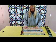 ▶ Quiltworx Bali Pops Sort for the Bali Wedding Star Pattern - YouTube