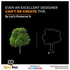 Certain things cannot be recreated once lost. Our environment is one such thing. No matter how hard we try, it is irrepressible. So let's make sure we start preserving it right now. #WorldEnvironmentDay #nature #digitalmarketingagency #topical #topicalpost #business #socialmediamarketing #digitalmarketing #socialmedia #memes #keepbuzzing #letsflytogether #flyingbees #agencylife #onlinemarketing #marketingstrategy #trending #viral #trend #trendingnow #viralvideos #flyingbeessurat…
