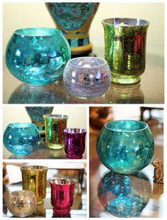 little vases around the house