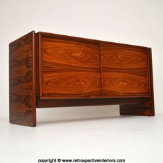 DANISH ROSEWOOD RETRO SIDEBOARD BY BROUER VINTAGE 1960's in Antiques, Antique Furniture, Sideboards | eBay