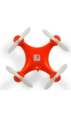 """SKEYE Nano Drone - Ultrasmall, Ultramaneuverable Quadcopter - 1.57x1.57"""" - Throw 'n Fly - Three Flight Modes - Great for Beginners - Bank, Flip and Barrel Roll at Lightning Speed - One Year Warranty Best Price"""