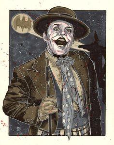 The Joker from Batman [1989] directed by Tim Burton