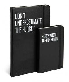 Limited Edition Star Wars Moleskine Journals #StarWars #TheForce #Moleskine