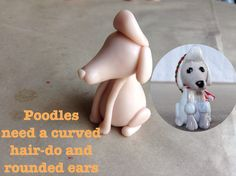 I have been working on polymer clay sculpted dog breeds. These make Pur-fect Christmas ornaments and I was going to post these for Christmas but I ran out of time. Polymer Clay Cat, Polymer Clay Ornaments, Dog Crafts, Diy And Crafts, Arts And Crafts, Clay Cats, Polymers, Clay Tutorials, Poodles