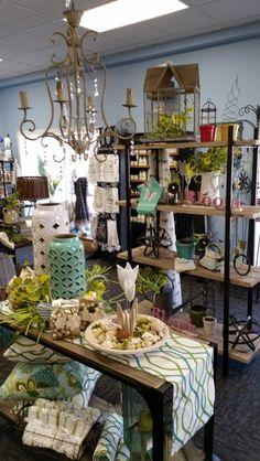 Spring display- Sturgeon Bay Sturgeon Bay, Spring Garden, Table Settings, Display, Shop, Decor, Floor Space, Decoration, Billboard