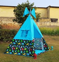 Teepee Party, Kids Teepee Tent, Play Tents, Tent House For Kids, Party Themes, Party Ideas, Bamboo Poles, Tent Sale, The Good Dinosaur