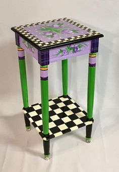Whimsical Painted Furniture, Hand Painted Furniture, Paint Furniture, Furniture Makeover, Furniture Design, Furniture Ideas, Furniture Online, Sofa Ideas, Discount Furniture