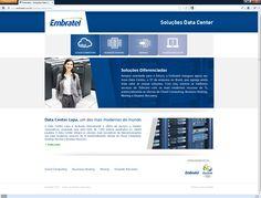 Hotsite - Data Center Embratel