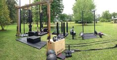 Outdoor Backyard Crossfit Gym