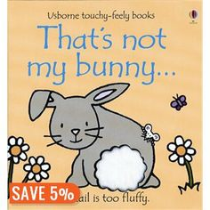 Thats Not My Bunny. (Usborne Touchy-Feely Books) by Fiona Watt 0794532160 9780794532161 Easter Gifts For Kids, Kids Gifts, Toddler Books, Childrens Books, Prima Magazine, Baby's First Easter Basket, Easter Baskets, Touch And Feel Book, Fiona Watt
